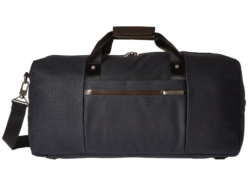 Briggs & Riley Kinzie Street Simple Duffel (Navy Blue) Duffel Bags