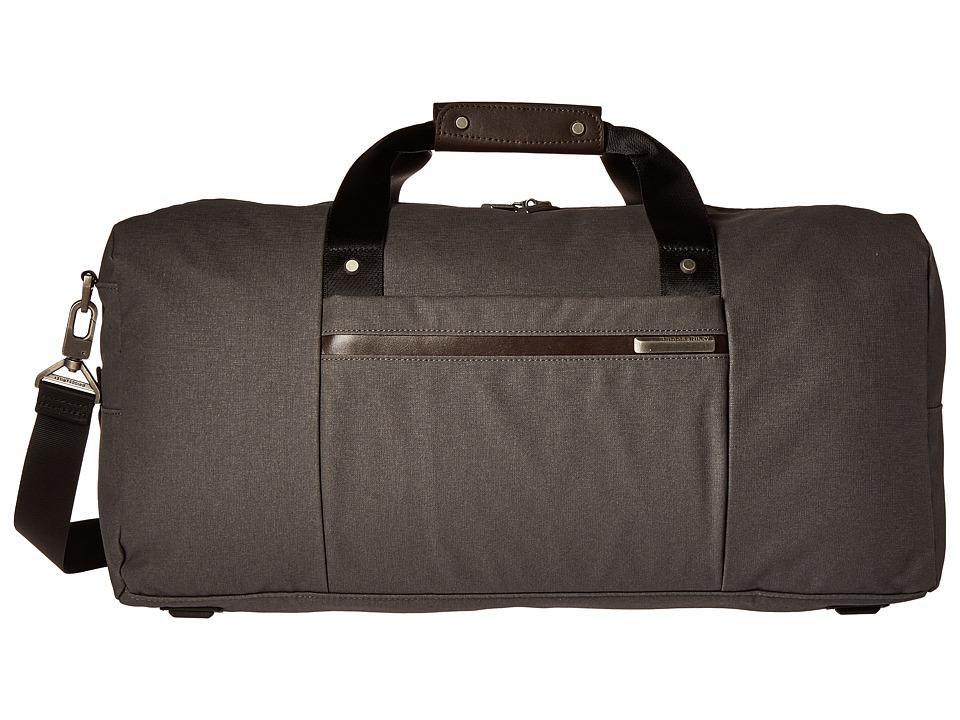 Briggs & Riley Kinzie Street Simple Duffel (Grey) Duffel Bags