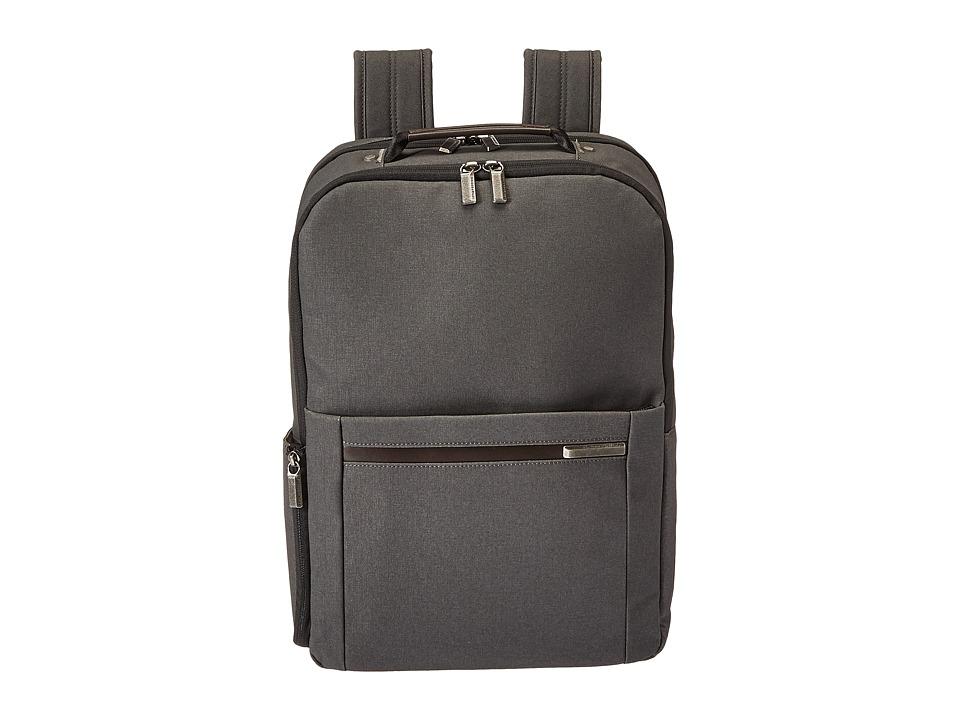 Briggs & Riley - Kinzie Street - Medium Backpack (Grey) Backpack Bags