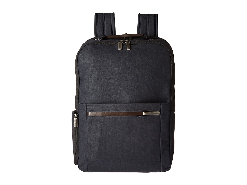 Briggs & Riley - Kinzie Street - Medium Backpack (Navy Blue) Backpack Bags