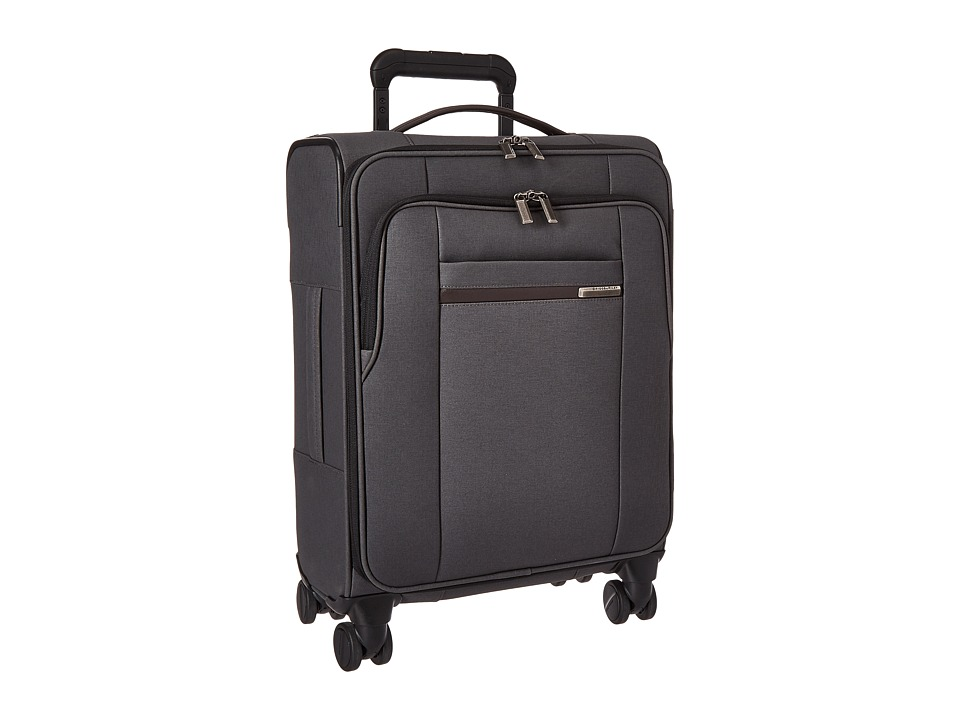 Briggs & Riley - Kinzie Street - International Carry-On Spinner (Grey) Carry on Luggage
