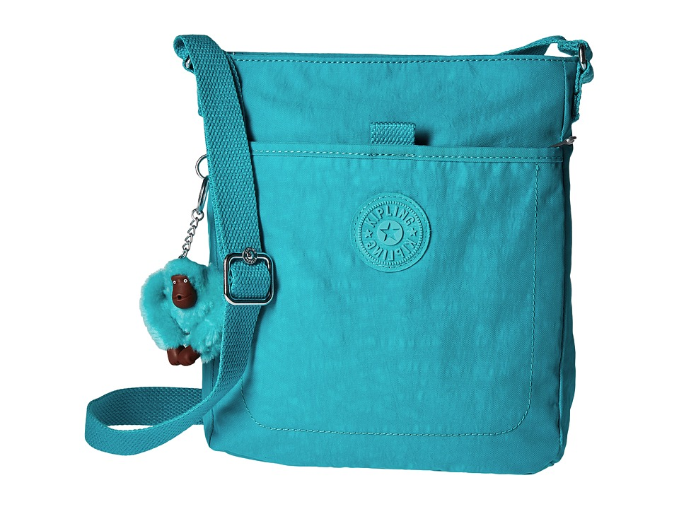 Kipling - Avari Crossbody (Cool Turquoise) Cross Body Handbags