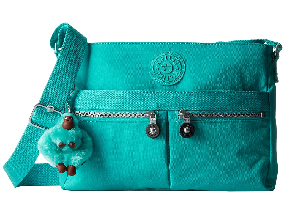 Kipling - Angie (Cool Turquoise) Handbags