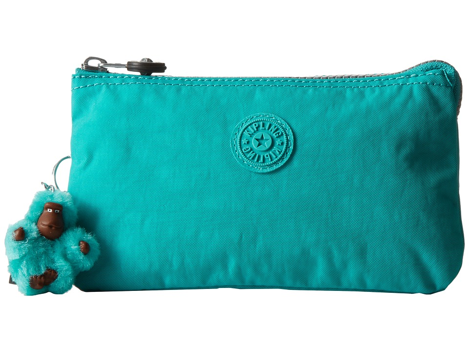 Kipling - Creativity Large Pouch (Cool Turquoise) Clutch Handbags