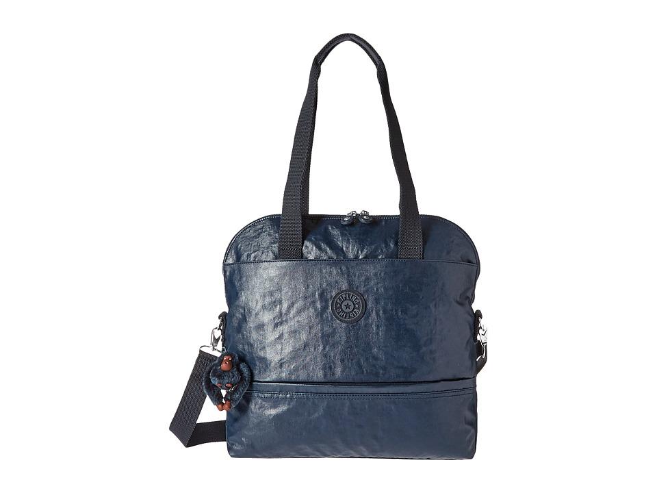 Kipling - Magnolia Satchel (Laquer Blue) Satchel Handbags