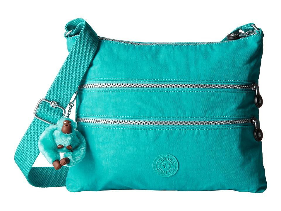 Kipling - Alvar Crossbody Bag (Cool Turquoise) Cross Body Handbags