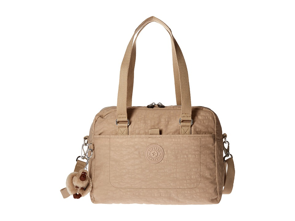 Kipling - Devyn Satchel (Sandcastle) Satchel Handbags