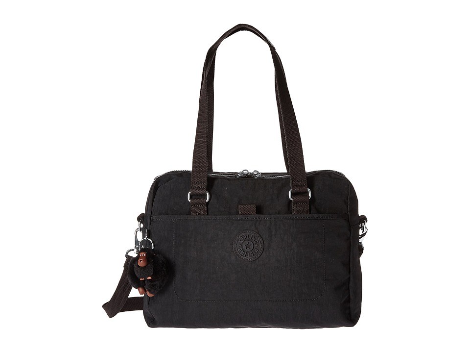 Kipling - Devyn Satchel (Black) Satchel Handbags