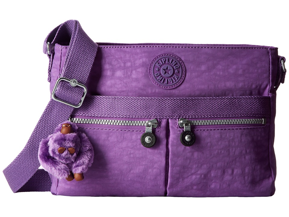 Kipling - Angie (Violet Purple) Handbags
