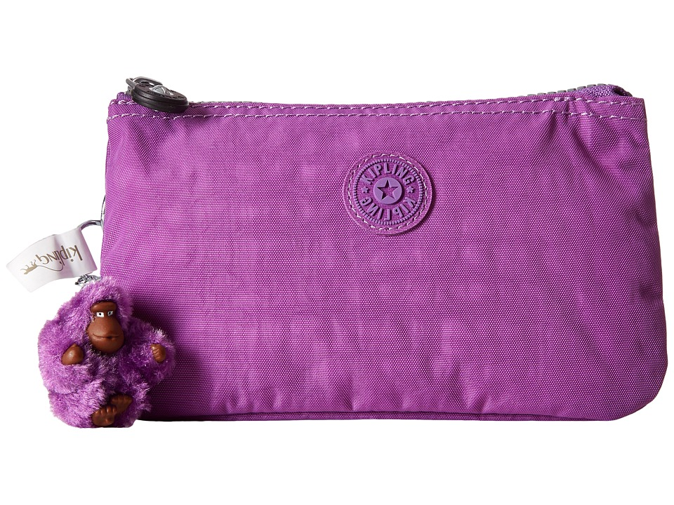 Kipling - Creativity Large Pouch (Violet Purple) Clutch Handbags