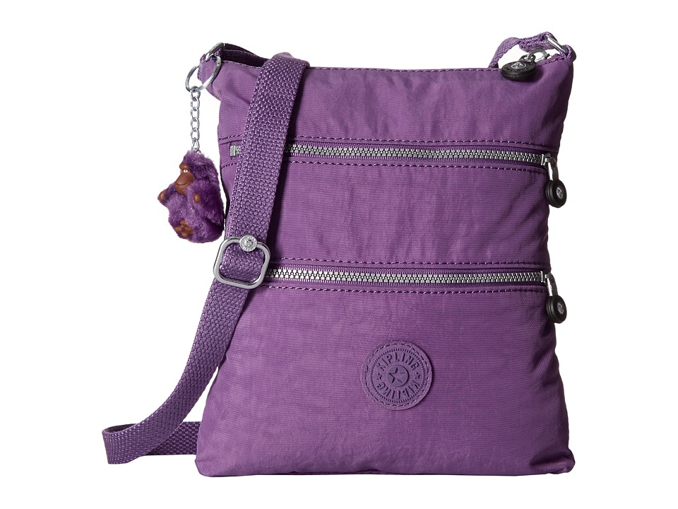 Kipling - Keiko Crossbody (Violet Purple) Cross Body Handbags