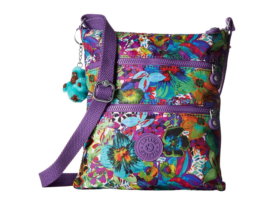 Kipling - Keiko Crossbody (Aloha Grove) Cross Body Handbags