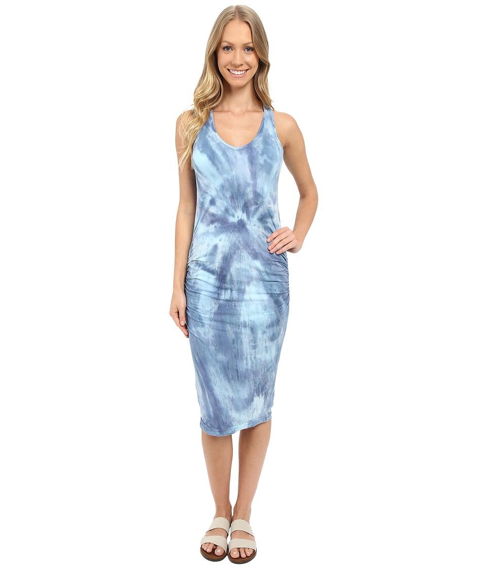 Hard Tail Double Trouble V-Neck Dress (Circle Swirl 26) Women
