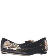 Dolce & Gabbana - Tulip Print Leather Skimmer