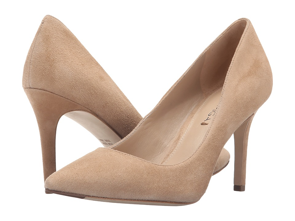 Via Spiga - Carola (Light Camel Kid Suede Leather) High Heels