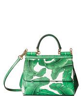 Dolce & Gabbana - Banana Leaf Print Sicily Bag
