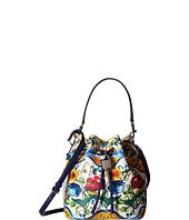 Dolce & Gabbana - Maiolica Ceramic Print Bucket Bag