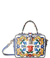 Dolce & Gabbana - Maiolica Ceramic Print Dolce Bag