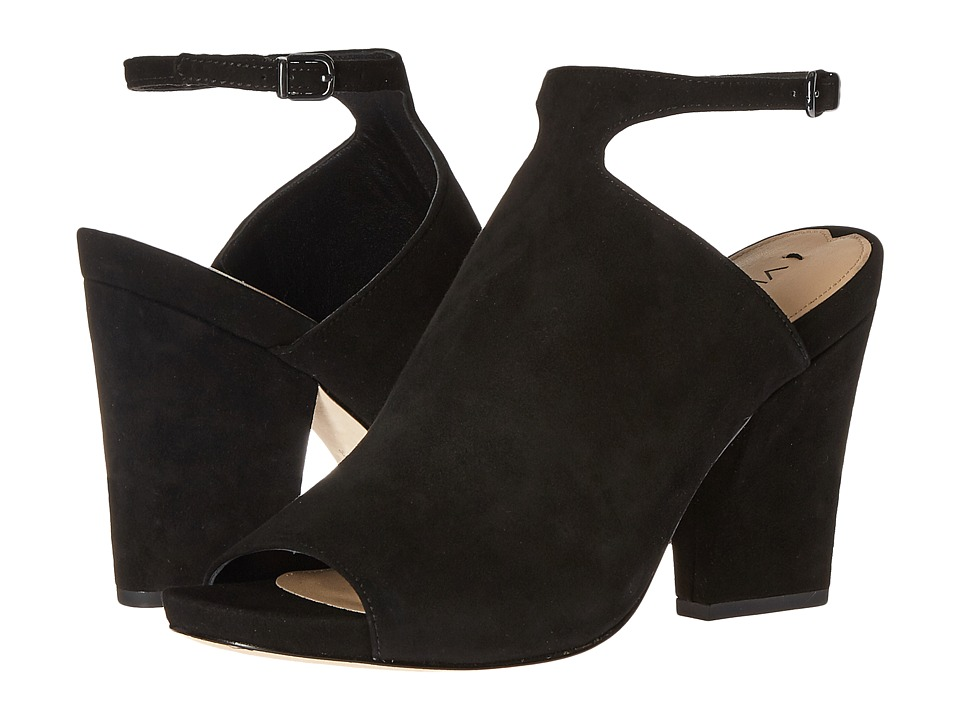 Via Spiga - Prim (Black Kid Suede Leather) Women