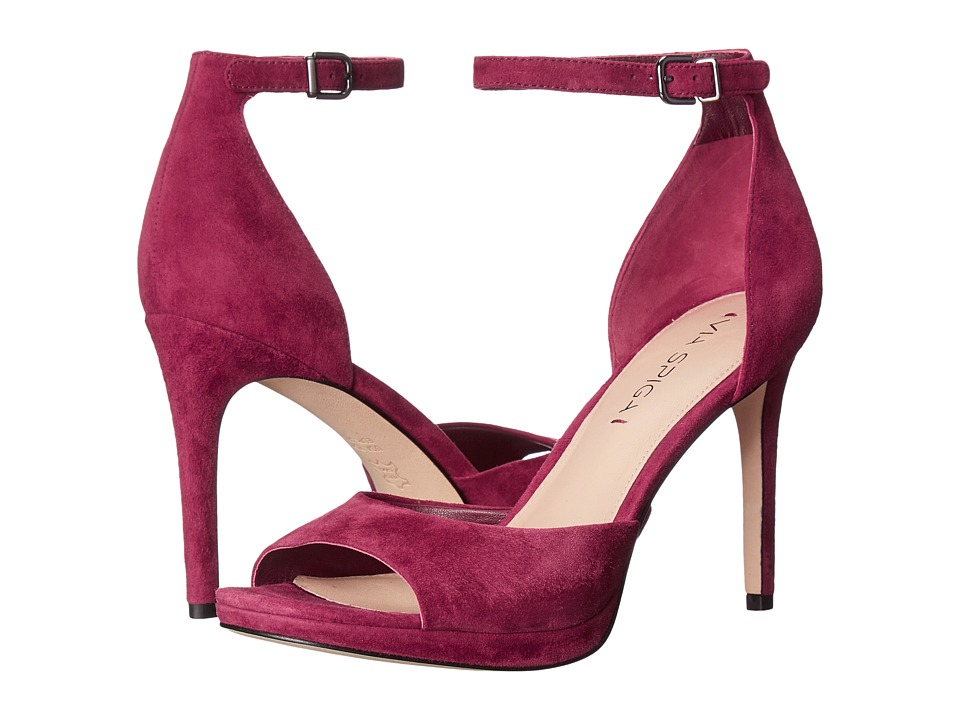 Via Spiga - Salina (Burgundy Kid Suede Leather) Women