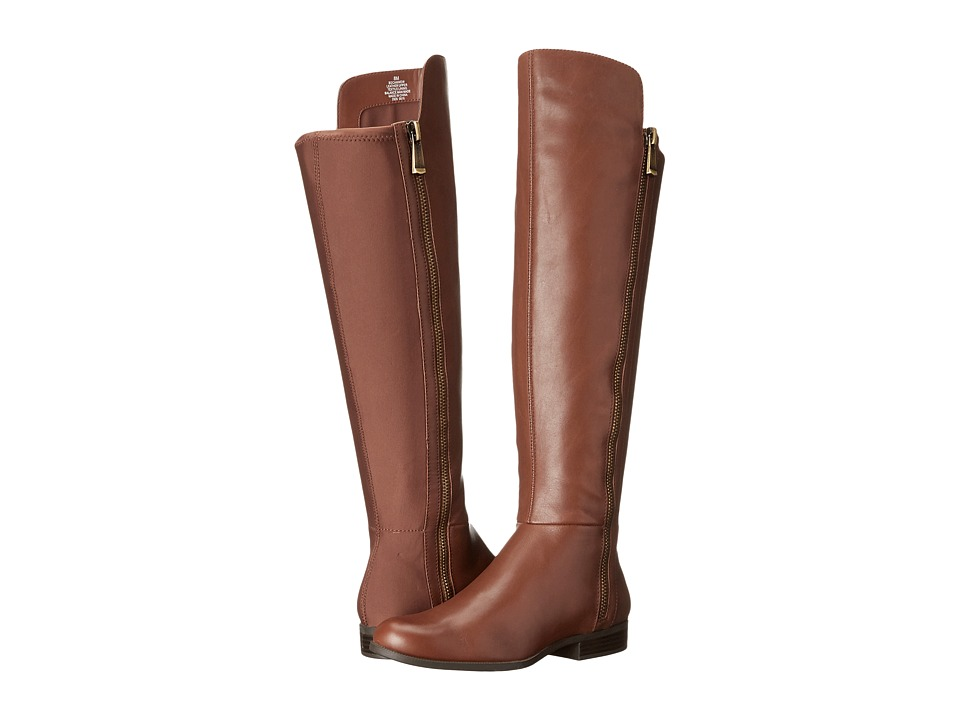Bandolino - Camme Wide Shaft (Kona Tan Leather) Women
