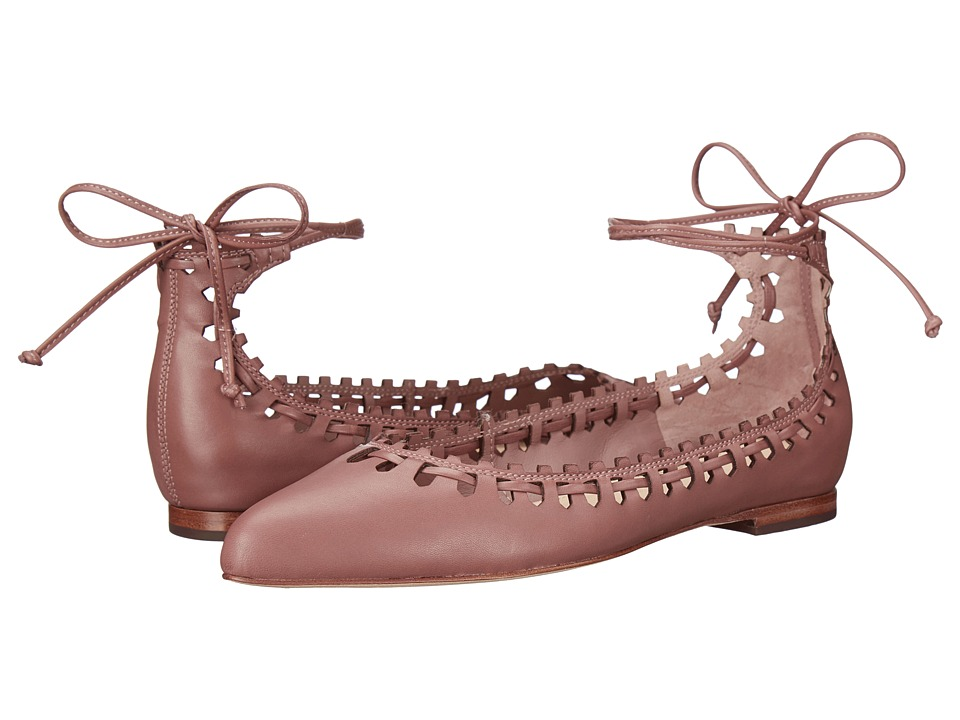 Via Spiga - Sammy (Dusty Rose Harvard Calf Leather) Women