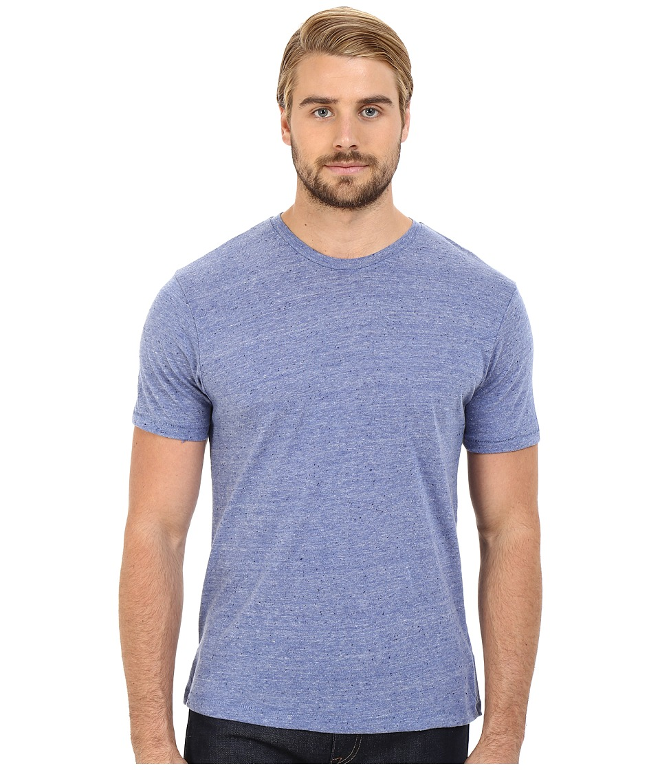 Alternative Eco Nep Jersey Waterline Tee Eco Pacific Blue Mens T Shirt