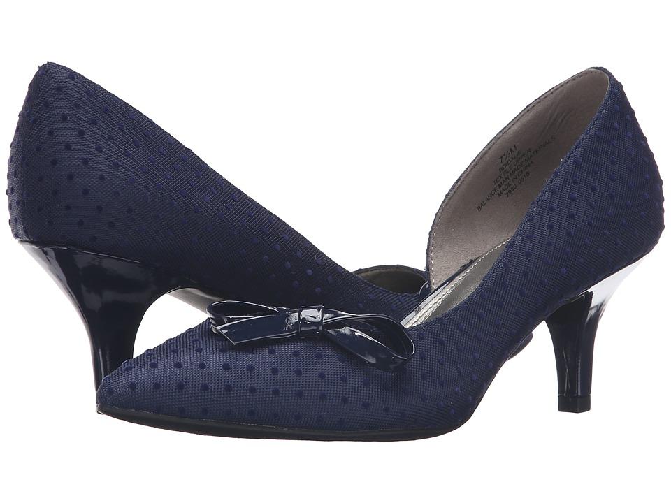 Bandolino Idalie (Blue Swiss Dot) Women