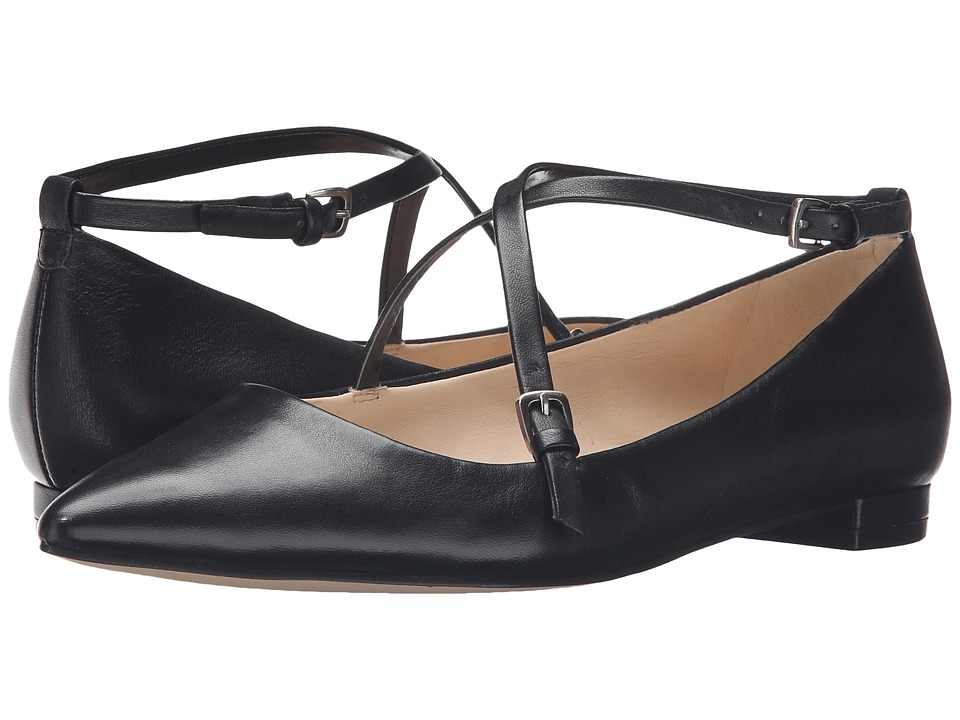 Nine West Anastagia (Black Leather) Women