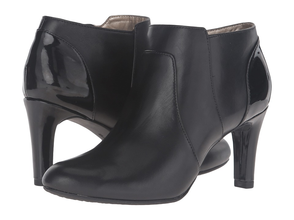Bandolino Liron (Black Leather/Patent) Women