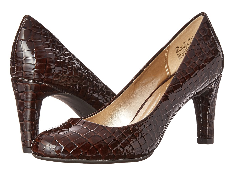 Bandolino Lantana (Brown Croco Synthetic) High Heels