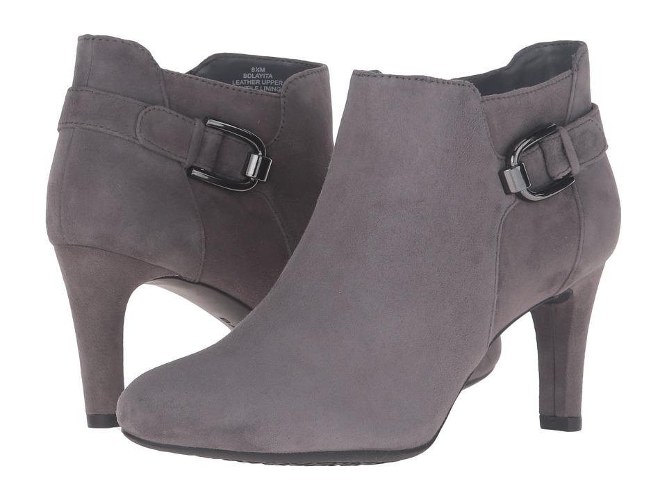 Bandolino - Layita (Grey Suede) Women