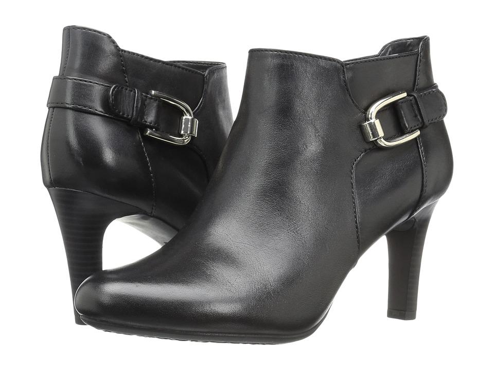 Bandolino - Layita (Black Leather) Women