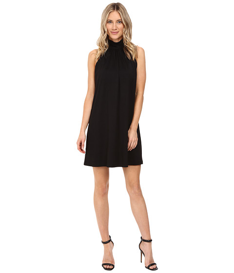 Susana Monaco Turtleneck Dress - Black