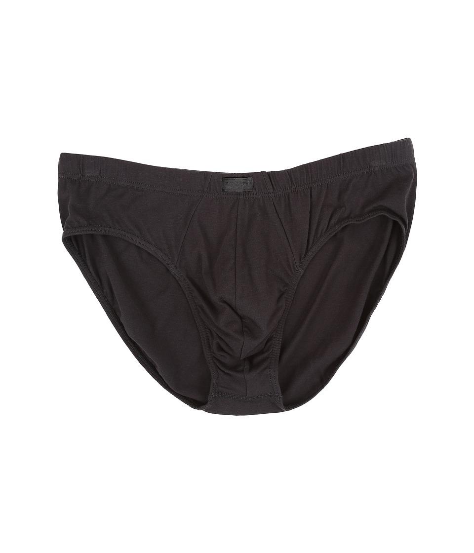 2(x)ist Pima Cotton Bikini Briefs (Black) Men's Underwear