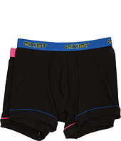2(X)IST - 2-Pack Performance Cotton No Show Boxer Briefs