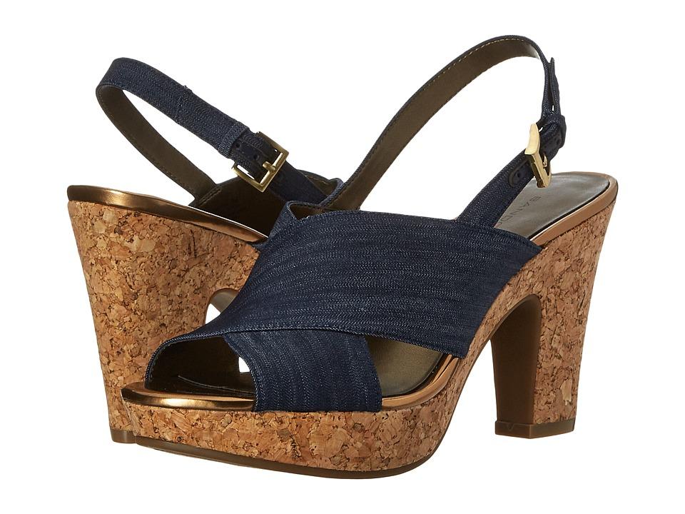 Bandolino Mopina Navy Womens Shoes