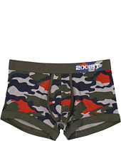 2(X)IST - Graphic Cotton No Show Trunks