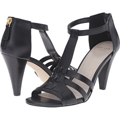 Cole Haan Womens Cady High Sandals (Black)