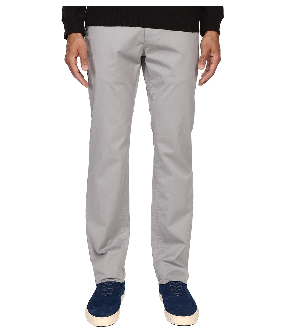 Billy Reid Leonard Chino Pants Grey Mens Casual Pants