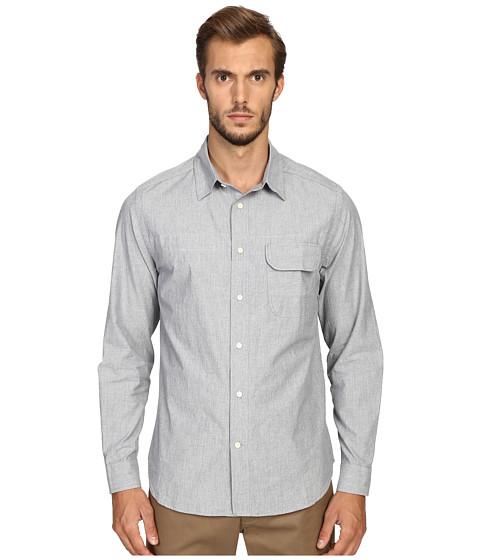 Billy Reid Runway Miller Button Up Shirt - Light Blue