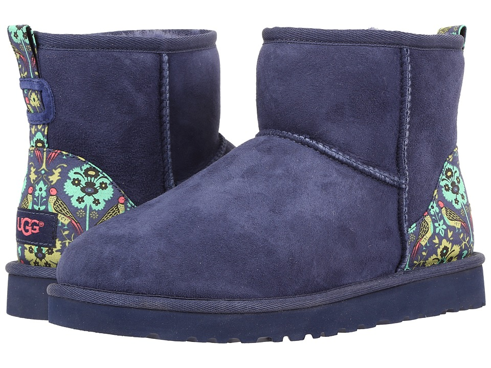 UGG - Classic Mini Liberty (Navy) Women