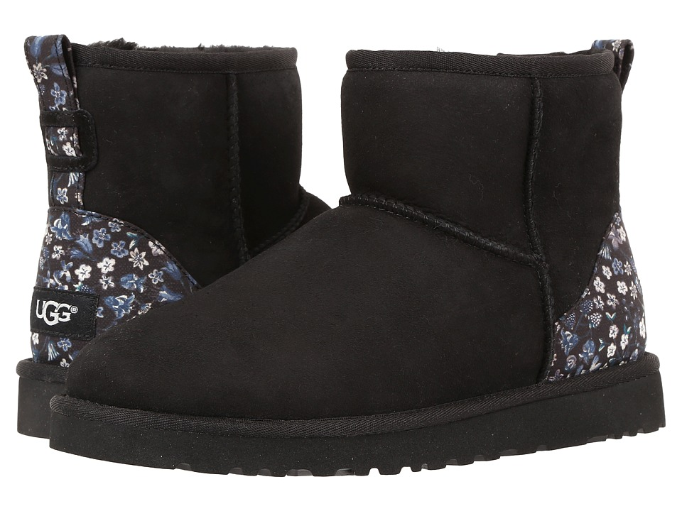 UGG - Classic Mini Liberty (Black) Women