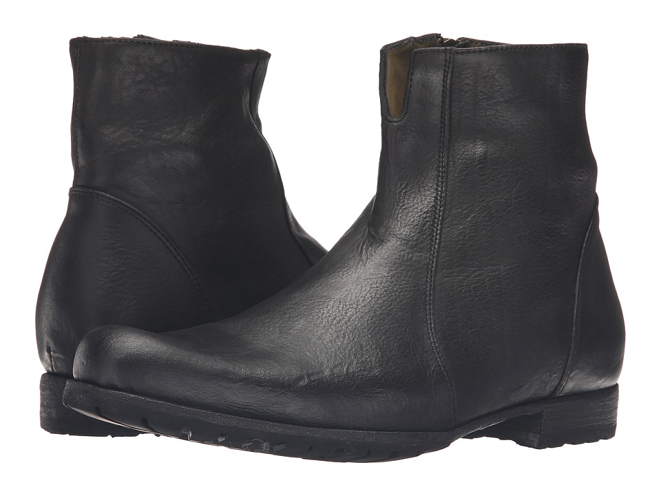 Billy Reid Paglia Moto Boot (Black) Men