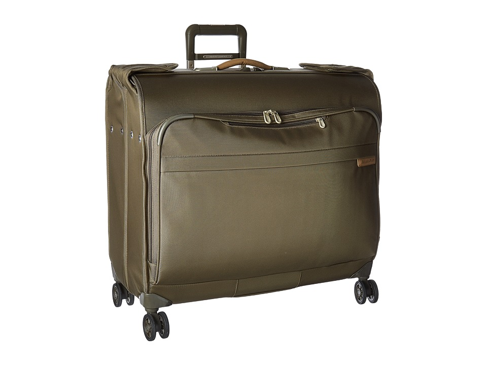 Briggs & Riley - Baseline - Wardrobe Spinner (Olive Green) Suiter Luggage