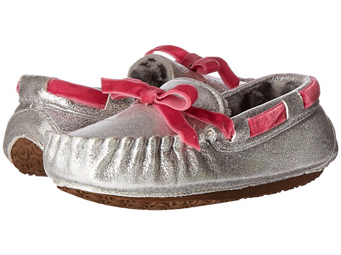 Stride Rite Gaby Moccasin (Toddler/Little Kid) - Silver