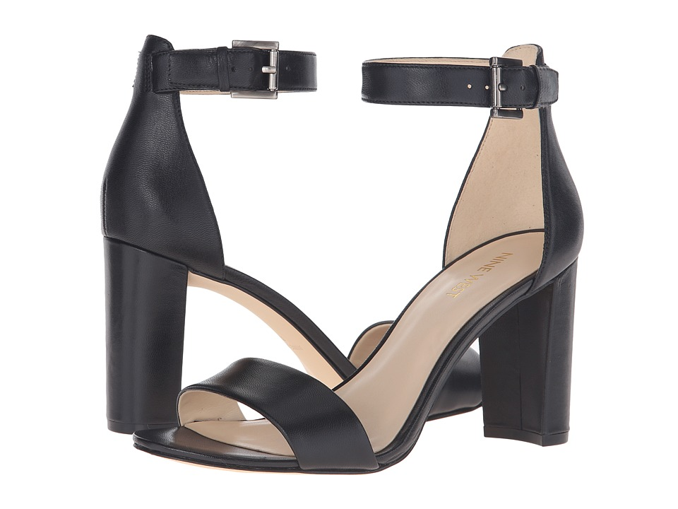 Nine West - Nora (Black Leather) Women's Shoes