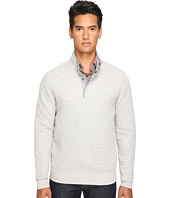 Jack Spade - Quilted Mock Neck Snap Pullover