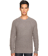 Jack Spade - Shaker Stitch Ribbed Crew Neck Sweater