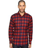 Naked & Famous - Real Indigo Buffalo Check Button Down
